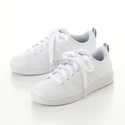 Adidas 阿迪达斯 VALCLEAN 经典板鞋 大童款 小白鞋 折后3542日元(约212元)