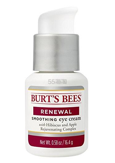 【中亚Prime会员】Burt's Bees 小蜜蜂 Renewal Smoothing 新生紧致抗皱眼霜 16.4g 到手价82元