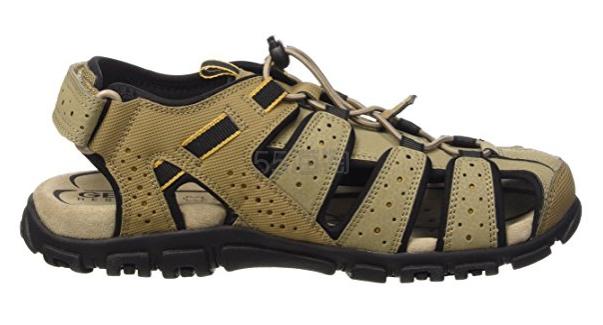 【中亚Prime会员】Geox 健乐士 Uomo Sandal Strada B U6224B00050 男士轻便凉鞋 到手价347元