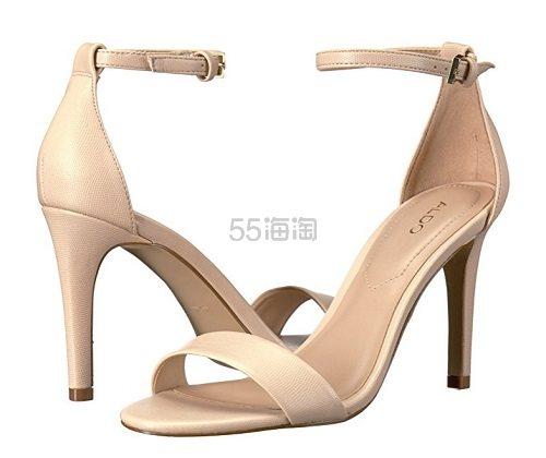 【美亚直邮】Aldo 奥尔多 Cardross 一字带高跟细跟凉鞋 (约196元)