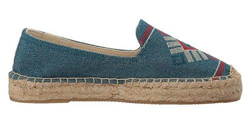 【美亚直邮】Soludos Yucatan 刺绣草编鞋 .9(约115元)