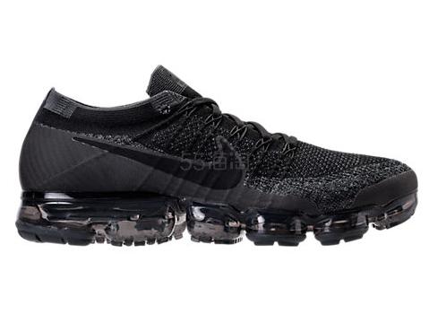 黑人同款 Nike 耐克 Air Vapormax Flyknit 运动跑鞋 全黑 0(约1376元)