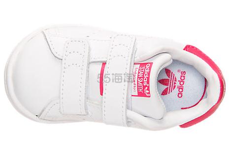 惊喜超低价 Adidas Originals 三叶草  Stan Smith 学步女童运动鞋 $19.98(约145元)