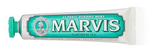 白菜价的爱马仕!【意亚直邮】Marvis 绿色经典薄荷味牙膏 75ml 2.15欧(约17元)