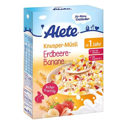 Alete 雀巢 小小发明家水果麦片 450g 3.68欧(约28元)
