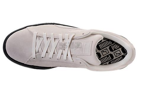 史低价码全 Puma 彪马 Clyde 麂皮男士低帮休闲鞋 $29.98(约217元)