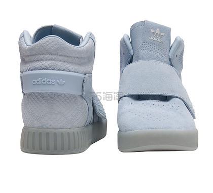 陈 Eason 同款!平民版椰子 Adidas Tubular Invader Strap 女士运动鞋 湖蓝色 $55(约398元)