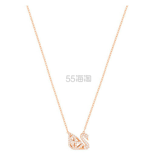 【超美上新!】Swarovski 施华洛世奇 新款镂空小天鹅项链 $129(约934元)