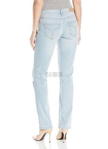 【美亚自营】Calvin Klein Jeans 女士破洞直筒裤 $11.45(约83元)