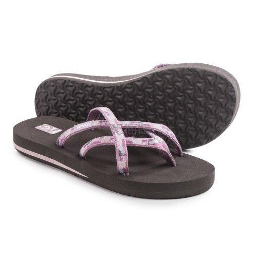 【超低价 拼手速!】Teva Olowahu Flip-Flops 女士夹脚人字拖 .99(约65元)