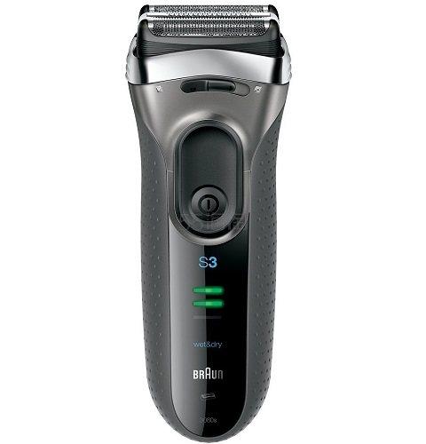 【中亚Prime会员】BRAUN 博朗 男士剃须刀3系列3080s-S 3刀刃 干湿两用 到手价387元