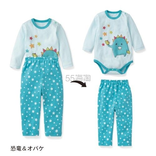 Belle Maison 千趣会 小童睡衣套组 1155日元(约69元)