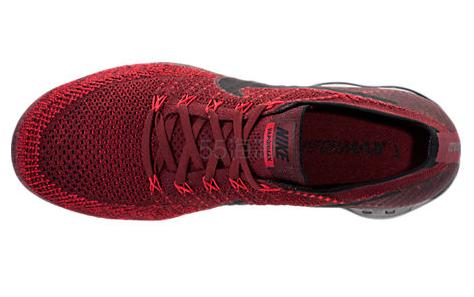 又来新配色 码全!潮人们都已入手的 Nike 耐克 Air VaporMax Flyknit 男士跑鞋 红黑 $190(约1376元)