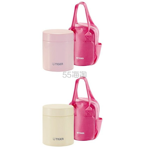 【中亚Prime会员】Tiger 虎牌 MCJ-A050 焖烧罐 500ml 粉色白色可选 到手价191元
