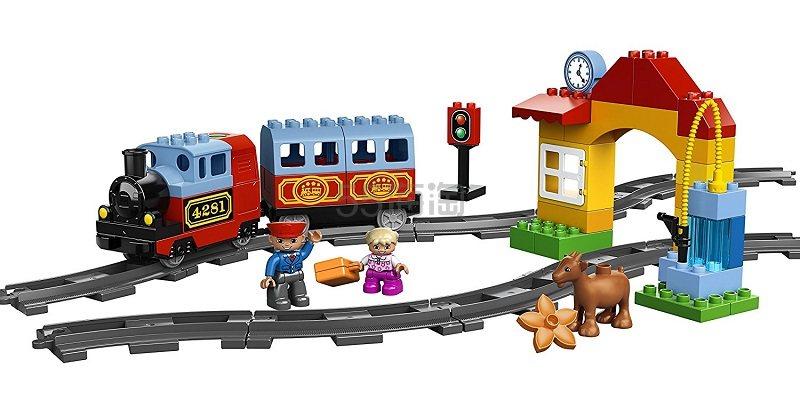 【中亚Prime会员】LEGO 乐高 得宝主题系列 火车入门套装 10507 2-5岁 积木玩具 到手价363元