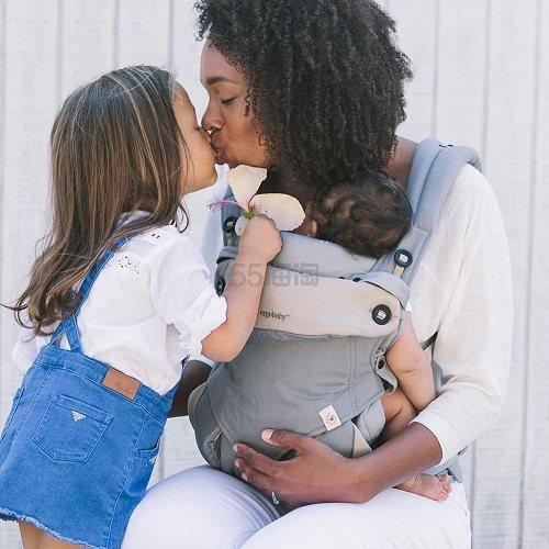 【中亚Prime会员】Ergobaby 四式360婴儿背带灰色 到手价981元