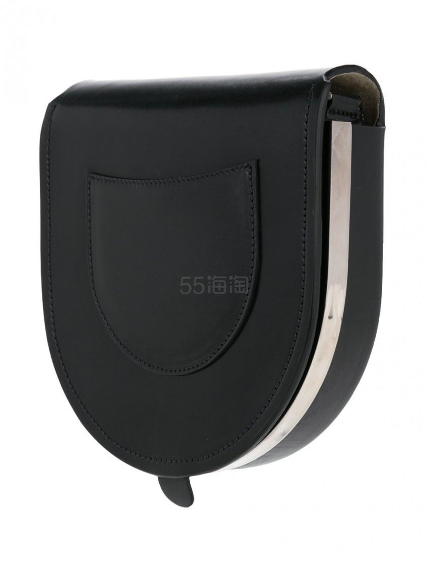 巴黎小众文青品牌 Lemaire 黑色 马鞍包 7(约6942元)