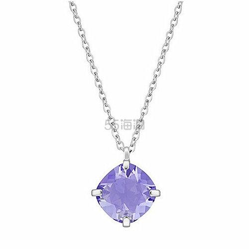 Swarovski 施华洛世奇 紫晶裸石项链 (约384元)