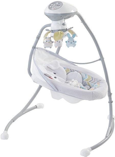 【美亚自营】Fisher-Price 费雪 可爱小狗婴儿摇床 $89.99(约652元)