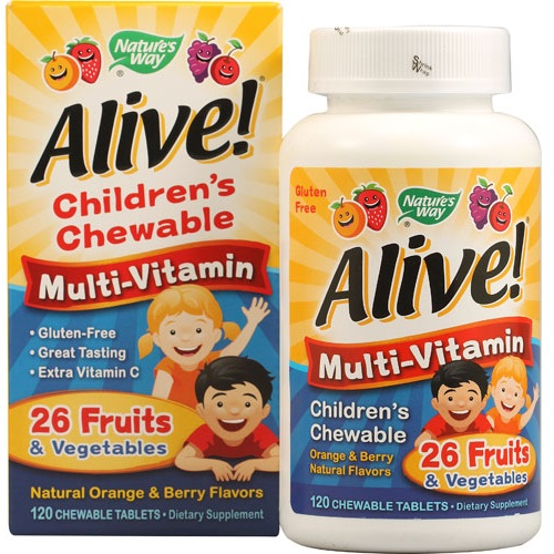 Nature's Way Alive! 儿童复合型维生素片120粒 .56(约57元)