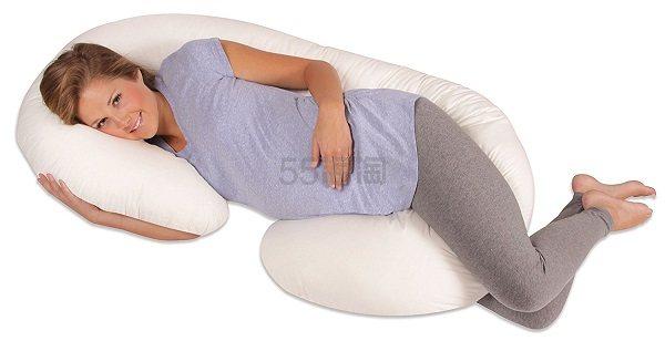 【中亚Prime会员】Leachco Snoogle 多功能U型孕妇枕头 到手价455元
