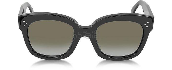 最值得入手的墨镜之一 Celine 经典款 宽框墨镜 4(约2347元)