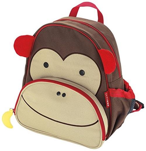 【美亚直邮】Skip Hop 可爱动物园小童背包 猴子款 $9.99(约72元)