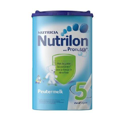 【9折】Nutrilon 牛栏 婴幼儿5段成长配方奶粉 800g 17.99欧(约139元)