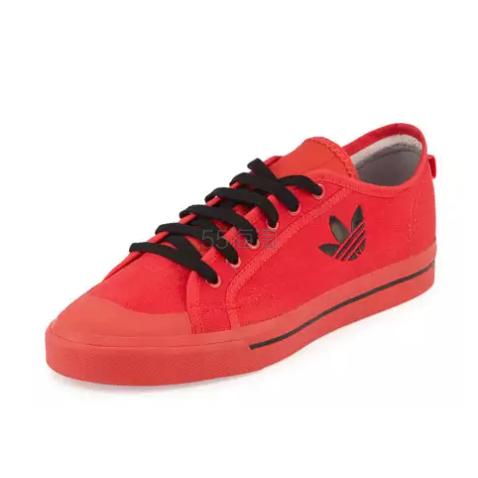 价好码全 Adidas by Raf Simons 联名款男士低帮板布鞋 $148(约1072元)