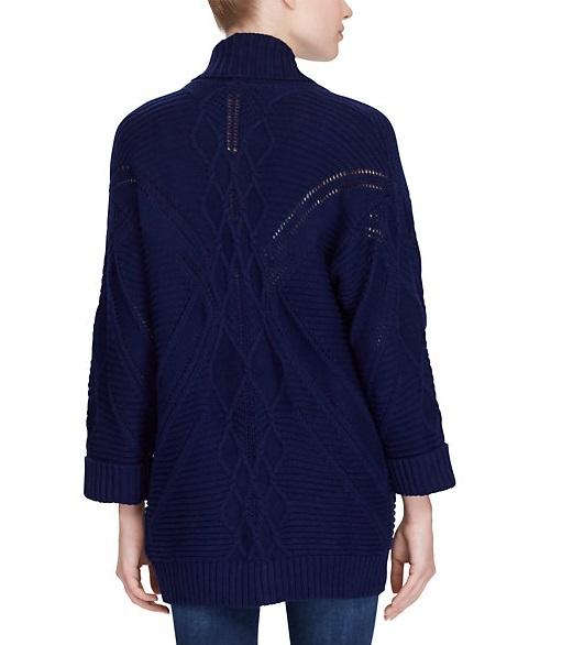 【原价$225!】Ralph Lauren 拉夫劳伦 纯棉针织开衫 $41.99(约304元)