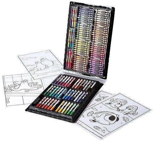 白菜价!【中亚Prime会员】Crayola 绘儿乐 海底世界 创意礼盒125色套装