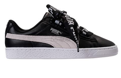 Puma 彪马 Basket Heart DE 女士运动鞋 黑色