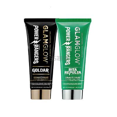 新品上架!Glam Glow 超凡战队合作款 限量紧致提拉面膜 金色绿色可选 30g