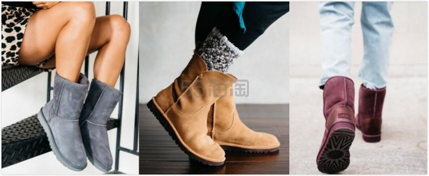 【3双5折!】UGG 美国官网:精选雪地靴、豆豆鞋、家居鞋等