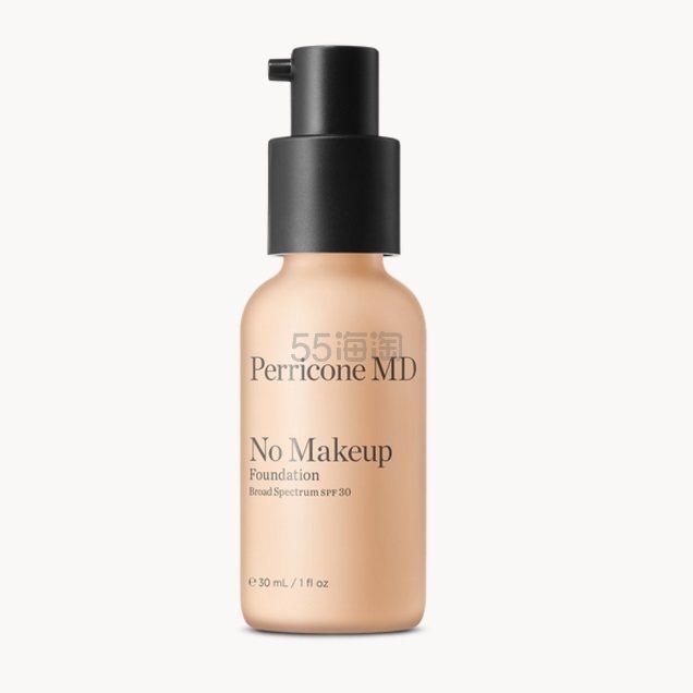 【5种色号可选】全新上线!Perricone MD 裴礼康 No Makeup 裸妆粉底液 SPF30 30ml