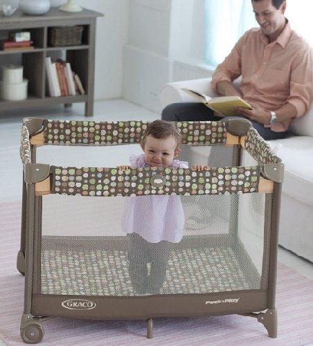 可以携带的婴儿床!【中亚Prime会员】Graco 葛莱 Pack'n Play On the Go Travel Playard多功能婴儿摇篮床