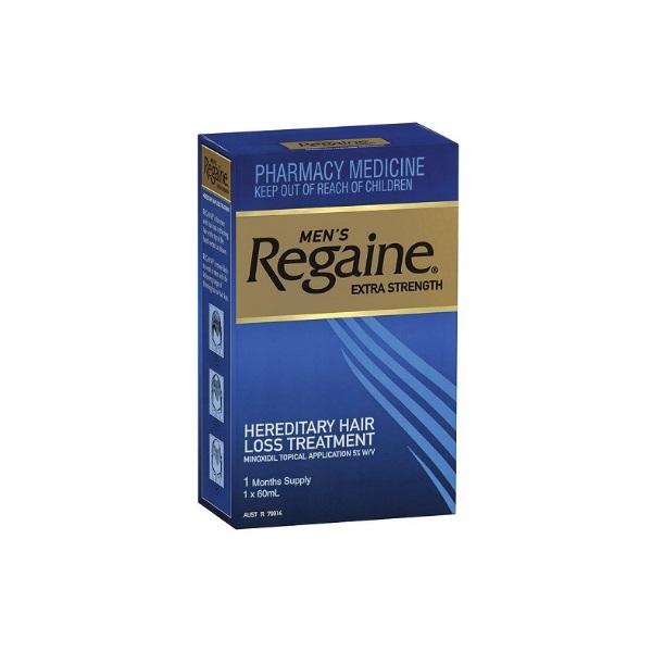 【立减8澳+免邮不限重】Regaine 倍健 5%男士强效型防脱发生发液 60ml