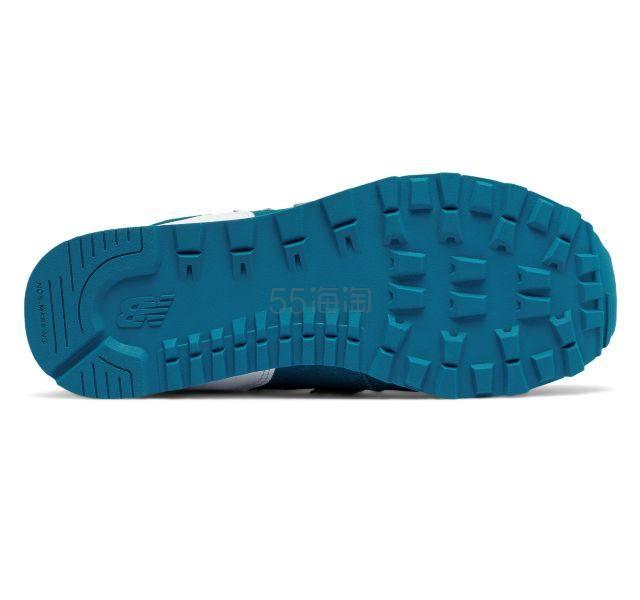 【拼单超好价+$1免邮!】New Balance 新百伦 574系列 大童款复古运动鞋 成人可穿