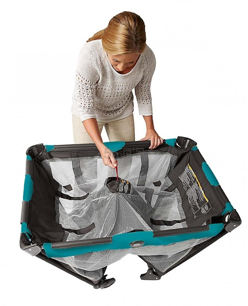 可以携带的婴儿床!【中亚Prime会员】Graco 葛莱 Pack'n Play On the Go Travel Playard 多功能婴儿摇篮床