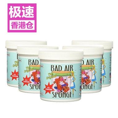 【立减2美元+免邮套装】Bad Air Sponge 除甲醛空气净化剂 434g*5盒