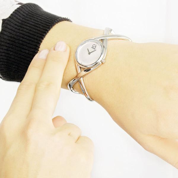 Calvin Klein K2L24120 Enlace 女士简约时尚腕表