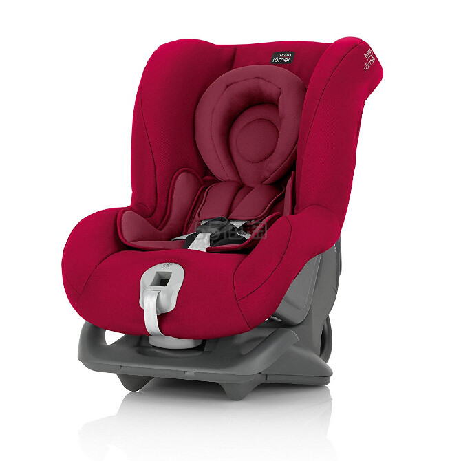 【中亚Prime会员】Britax 宝得适 First Class Plus 头等舱 儿童汽车安全座椅 火焰红色