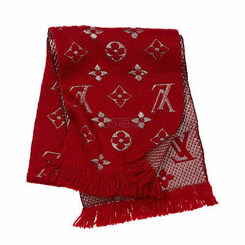【清仓!4色选】Louis Vuitton Logomania Shine 围巾