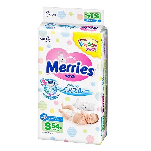 【日本亚马逊】 Merries 花王 纸尿裤 S码 54枚装