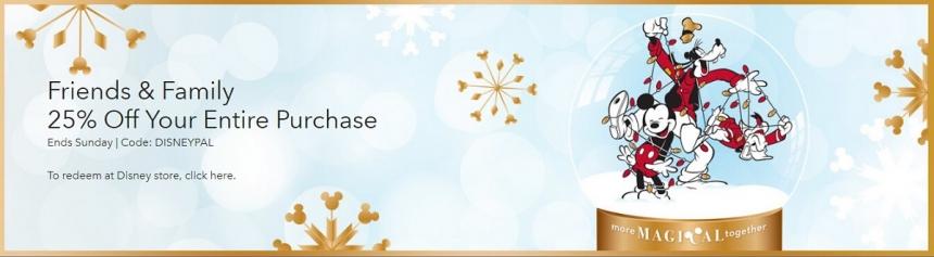 【11.11特惠】Disney 迪士尼:服饰、玩具、家居、箱包等周边产品