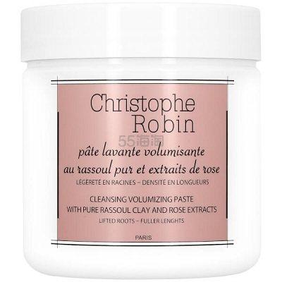 买3付2+送洗发水12ml!Christophe Robin 玫瑰拉苏尔深层清洁洗发膏 250ml