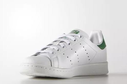 【Spring 返利回归,仅限3天】Adidas Originals 三叶草 Stan Smith 小绿尾运动鞋 大童款