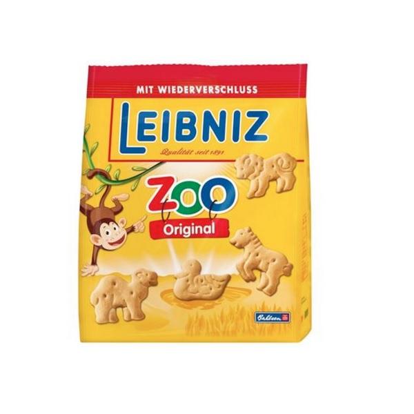 【3件8折】Leibniz 小麦黄油动物儿童饼干 125g