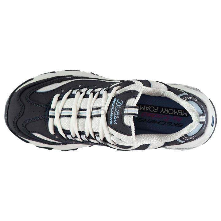 Skechers 斯凯奇 Sport D'Lites Biggest Fan 女子复古休闲鞋