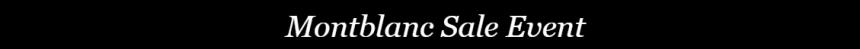 【闪促】Jomashop:Montblanc 万宝龙 精选手表、签字笔、箱包等
